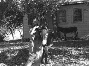 Frances loves donkeys