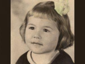 Frances at four, studio photo