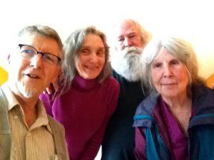 Tim, Marie, Art Junker, Frances in Port Townsend, WA, 2014